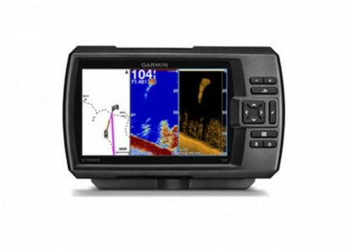 Garmin Striker 7dv With DownVü Transom Transducer